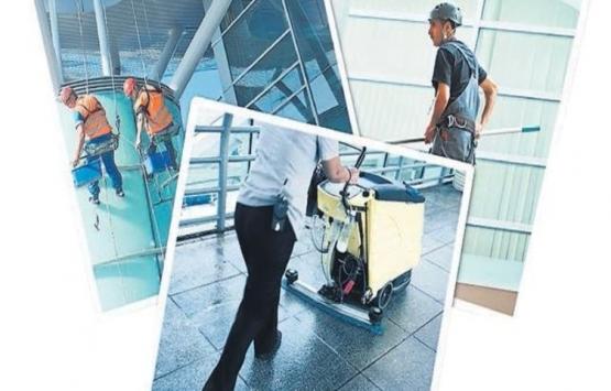 Yeni Havalimanı'nın temizliği