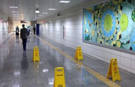 Ankara metrosu su