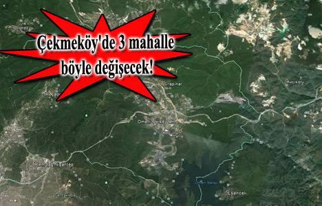 Çekmeköy Hüseyinli, Sırapınar ve Ömerli Batı Bölgesi imar planı askıda!