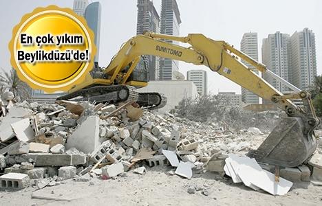 İstanbul'da 704 metruk bina yıkıldı!