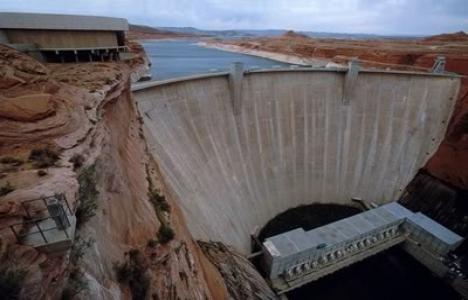 Erzurum'da baraj inşaatında