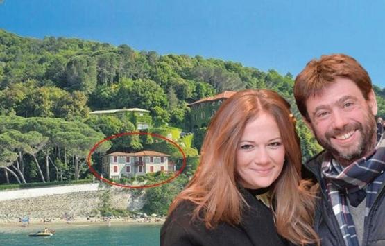Deniz Akalın, Levanto'daki 140 milyon dolarlık malikanesine taşındı!