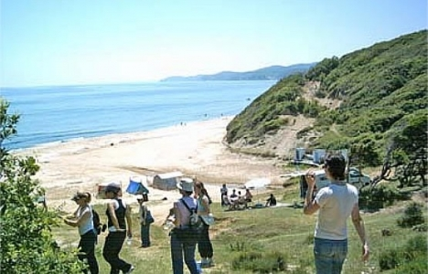 İğneada'da çadır turizmine yoğunluk arttı!