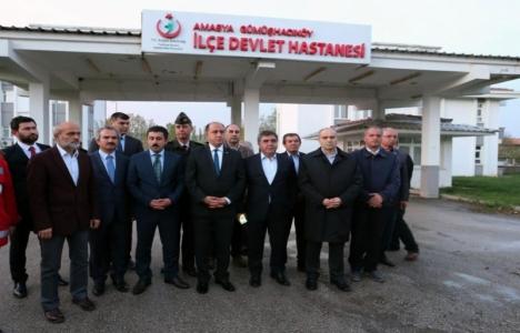 Amasya Gümüşhacıköy Açık Cezaevi'ndeki çatı çökme olayı incelendi!