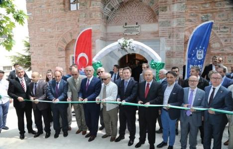 Bursa Tophane Mesleki ve Teknik Anadolu Lisesi Müzesi açıldı!
