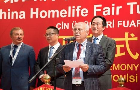 China Homelife Turkey Fuarı açıldı!