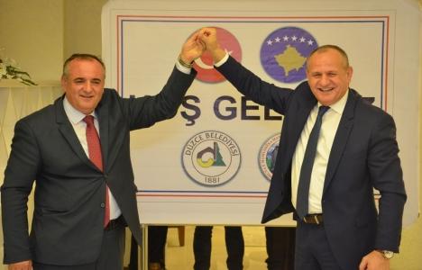 Düzce Belediyesi'nden Kosova'ya spor salonu!