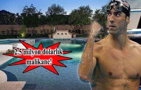 Michael Phelps'in yeni evi görenleri büyülüyor!
