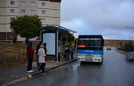 Aksaray Belediyesi yolcu bekleme durağı kuruyor!