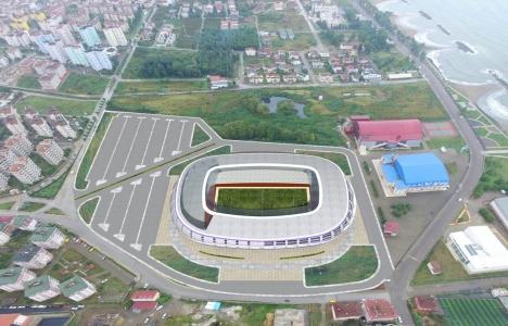 Ordu Stadı'nın yüzde