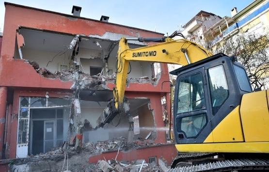 Bursa Mudanya'dakiriskli bina eğitime kazandırılıyor!