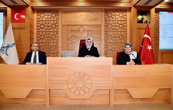 Sancaktepe Belediyesi'nde yeni dönem ilk meclis toplantısı yapıldı!