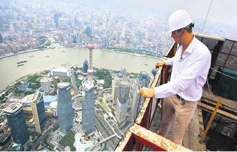 Çin'in Şangay şehrindeki Shangai Tower basına tanıtıldı!