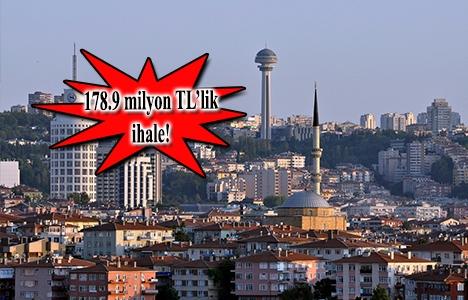 Ankara Büyükşehir'den Çankaya