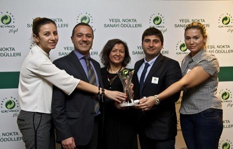 Akçansa gönüllüleri ÇEVKO'dan sosyal sorumluluk ödülü aldı!