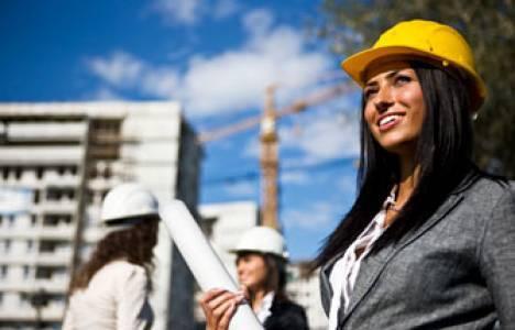İnşaat sektöründe 24 bin kadın çalışma hayatına katıldı!