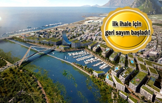 Kanal İstanbul'un ilk