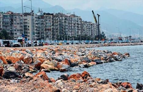 İzmir'de denizin kaçak