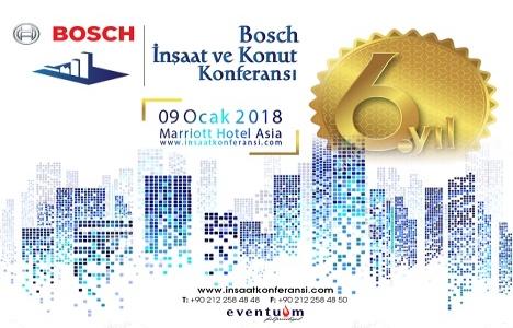 Bosch İnşaat ve Konut Konferansı 9 Ocak'ta!