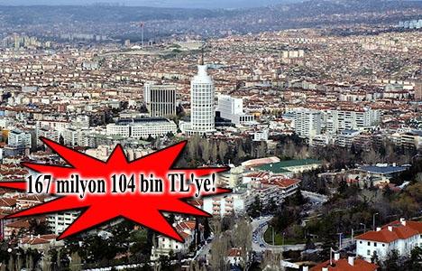 Ankara'daki 8 arsanın