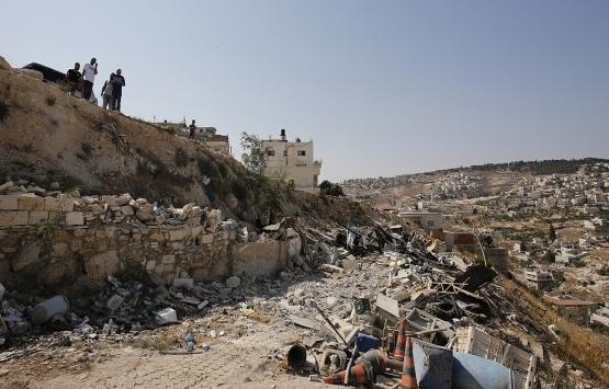 İsrail Kudüs'te bir