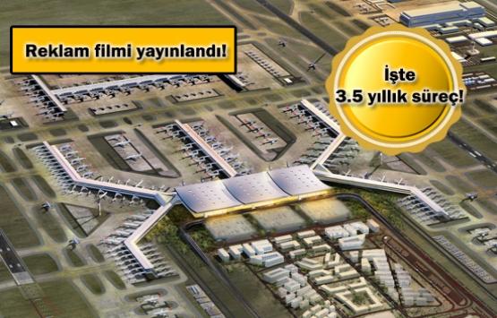 Yeni Havalimanı artık Cumhurbaşkanı Erdoğan'ın inişini bekliyor!