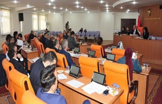 Karaman Belediye Meclisi'nde