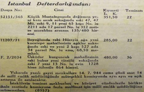 1944 yılında Beyoğlu'nda