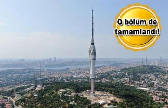 çamlıca kulesi inşaatı
