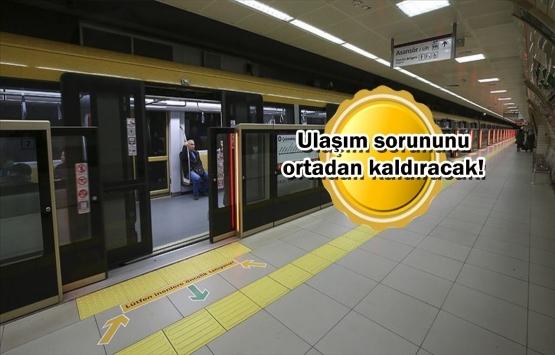 İstanbul'daki raylı sistem hatlarında çalışmalar hızlandı!