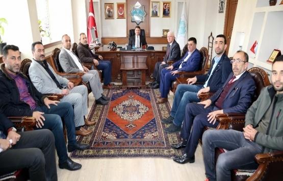 Emlakçılar ve Mali Müşavirler Derneği'nden Enver Dinçer'e ziyaret!