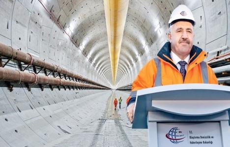 Avrasya Tüneli'nin temel tarihi Ahmet Arslan'a istifa ettirecekti!
