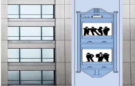 Double Deck ile asansör beklemeyeceksiniz!