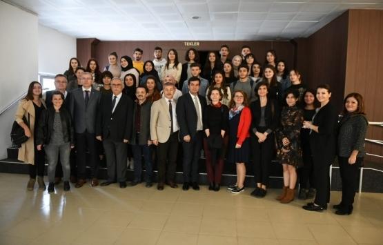Ülgür Gökhan, Şehir ve Bölge Planlama Bölümü öğrencileri ile buluştu!