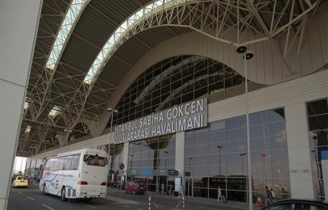 Sabiha Gökçen Havalimanı'na