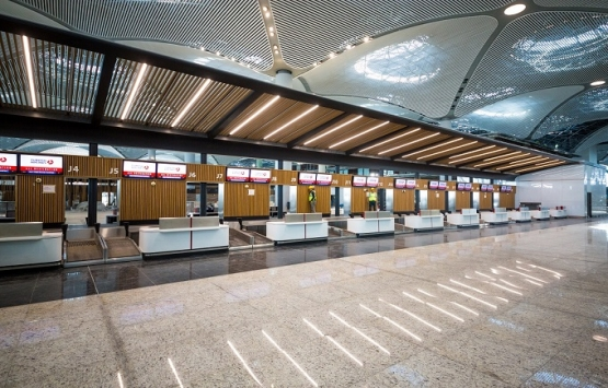 İstanbul Havalimanı'na ahşap