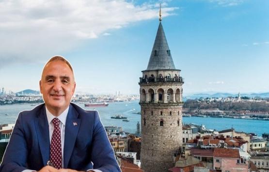 Mehmet Nuri Ersoy'dan 'Galata Kulesi' açıklaması!