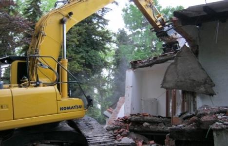 Samsun 19 Mayıs'ta kaçak binalar yıkılıyor!