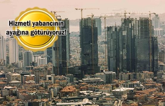 Yabancıların Türkiye'den ev alması kolaylaştı!