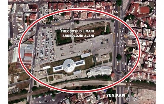 İBB'den Yenikapı'daki Theodosius Limanı için yarışma!