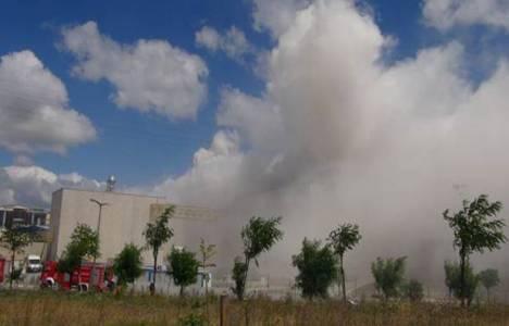 Tuzla'da bulunan Kayalar Kimya fabrikasında yangın çıktı!