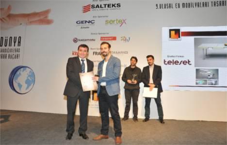 Ulusal Ev Mobilyaları Tasarım Yarışması ödül töreni gerçekleşti!
