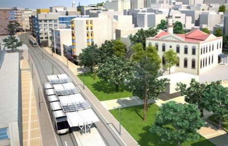 Kocaeli tramvay hattının