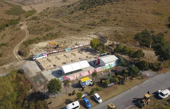 Başakşehir Hayvan Hastanesi ve Geçici Bakımevi'nin inşaatının yarısı tamam!