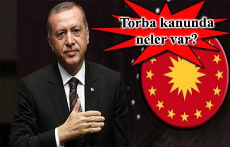 Cumhurbaşkanı Erdoğan Torba