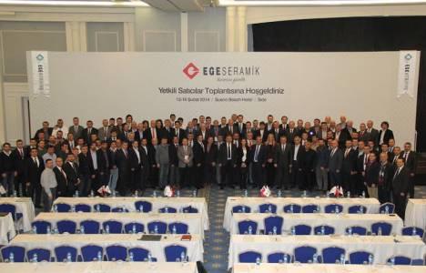 Ege Seramik yetkili satıcılarıyla Antalya'da bir araya geldi!