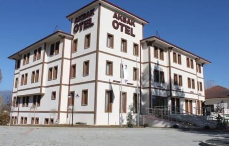 Ilgaz Akbak Otel: Türkiye'nin ilk tuz temalı oteli!