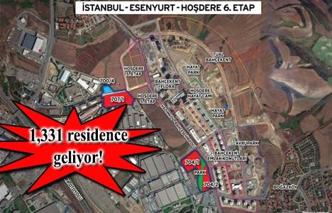 Emlak Konut Hoşdere 6. Etap arsa ihalesi 3 Mayıs'ta!