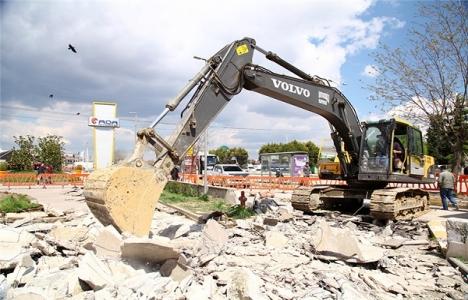 Sakarya Ada AVM üst geçit projesinin inşaatı başladı!