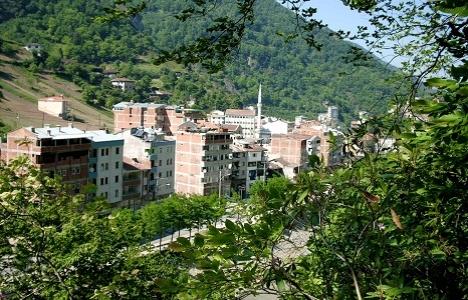 Trabzon Dernekpazarı'nda kentsel